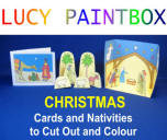 Free PDF downloads Colour and Cut Out Christmas Cards and Pictures, movie title