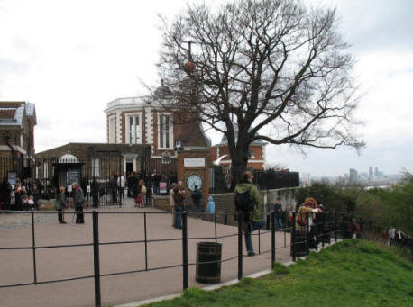 Greenwich Park - Royal Greenwich Observatory - Flamsteed House & Meridian Courtyard