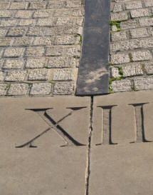 Greenwich Park - part of Meridian Sundial