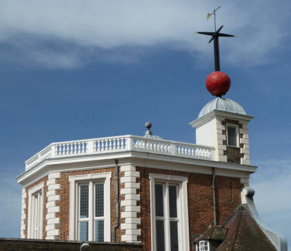 Greenwich Park - Flamsteed House and time ball