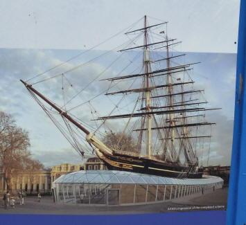 Greenwich - Cutty Sark - final appearance mockup