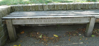 Greenwich Park - One Tree Hill bench inscription 1